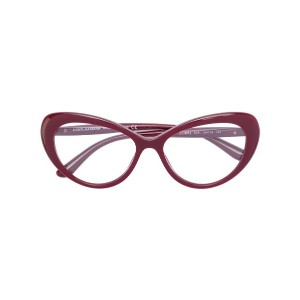 Dolce & Gabbana Eyewear - cat eye glasses - women - アセテート - 52