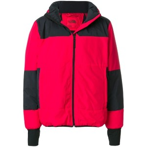 The North Face パデッドジャケット - レッド