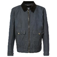 Belstaff - zipped bomber jacket - men - コットン - 54