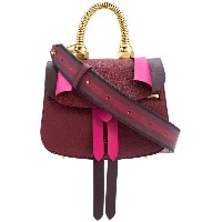 Pugnetti - Micro Rose bag - women - レザー/metal - ワンサイズ