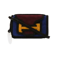 Pierre Hardy - Alpha crossbody bag - women - スエード - ワンサイズ