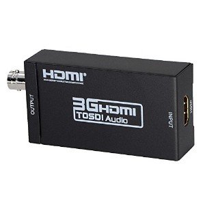 DATACE HDMI to SDI コンバーター HDMI to 3G-SDI/HD-SDI/SD-SDI変換器 hdmi sdi 変換(HDMIをSDIに変換) ESD保護機能搭載...