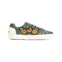 Ash - embellished lace-up sneakers - women - レザー/Canvas/rubber - 36