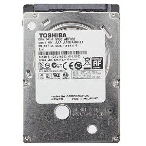 東芝 2.5インチ HDD ( SATA 6Gb/s / 320GB / 5400rpm / 8MB / 7mm厚 ) Hシリーズ MQ01ABF032