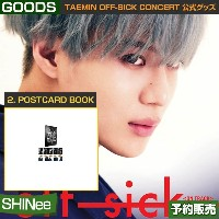 2. POSTCARD BOOK / SHINee TAEMIN [off-sick] ON TRACK GOODS /日本国内配送/1次予約/送料無料