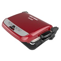 George Foreman GRP4800R 4-in-1 Multi-Plate Evolve Grill (Grilling, Baking, and Cupcake Plates...