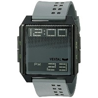 ベスタル Vestal Unisex DIG036 Digichord Digital Display Quartz Grey Watch [並行輸入品]