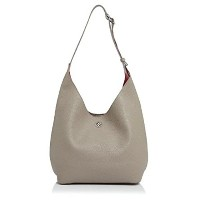 TORY BURCH PERRY SMALL HOBO FRENCH GRAY×RED [並行輸入品]