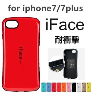 iPhone7 iphone8 iFace First ipone7 plus アイフェイスファーストクラス アイフォン7 衝撃吸収 (iphone7plus/8plus, レッド)