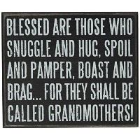 Primitives by Kathy Box Sign, 5 by 6-Inch, Grandmothers by Primitives By Kathy