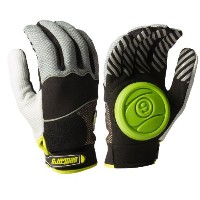Sector 9 Apex Longboard Skateboard Slide Gloves Black / Grey Size S/M With Slide Pucks by Sector 9