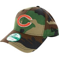 Chicago Bears New Era 9Forty NFL Basic Camouflage Adjustable Hat Chapeau