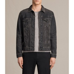 BANNOCK DENIM JACKET (Jet Black)