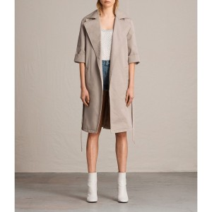 LUNA STITCH TWILL MAC (Putty Grey)