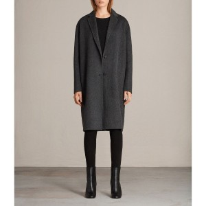 ANYA COAT (Charcoal Grey)