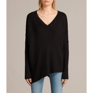 KELD OLIVO V NECK (Black)