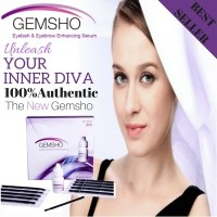 ★[100% AUTHENTIC]PROMOTION NEW PACKAGING GEMSHO EYELASH SERUM 10 THIN BRUSH★100% EFFECTIVE★Guarantee