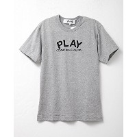COMME des GARCONS PLAY  コム デ ギャルソン メンズ Tシャツ PLAYロゴ 両面プリント Lサイズ