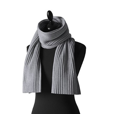 プリース ショートスカーフ ライトグレー Pleece SHORT SCARF light gray Marianne Abelsson