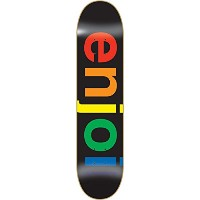 Enjoi Spectrum Black Deck 8.0 Resin 7 Skateboard Decks by Enjoi Skateboards