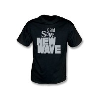 God Save New Wave Tシャツ