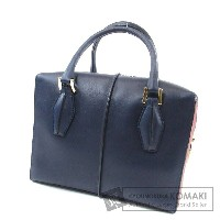 TODS 2WAY ハンドバッグ カーフ レディース 【中古】【トッズ】