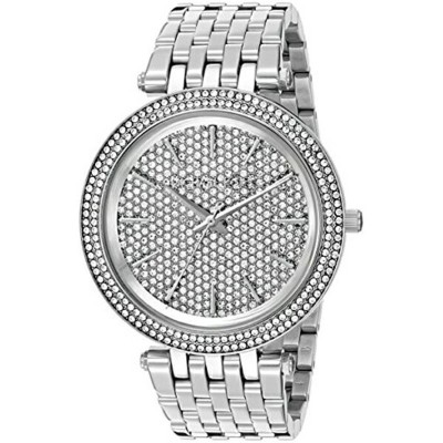 マイケルコース Michael Kors レディース 腕時計 時計 Michael Kors Women's Darci Silver-Tone Watch MK3437