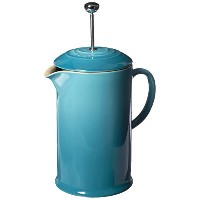 Le Creuset Stoneware 27-ounce French Press , Caribbean
