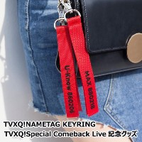 TVXQ!NAMETAG KEYRING「TVXQ!Special Comeback Live YouR PresenT記念グッズ」