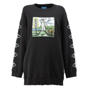 Undercover - graphic print sweatshirt - women - コットン - 1