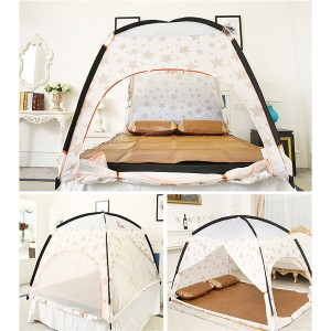 FENGZHILU-B bed curtain summer mosquito bedding article adult dormitory