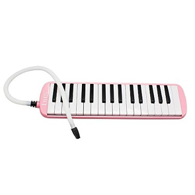 WINGONEERポータブル32キーMelodica学生ハーモニカバッグ付き - ピンク