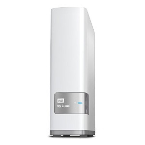 WD 6TB My Cloud Personal Network Attached Storage - NAS - WDBCTL0060HWT-NESN [並行輸入品]