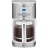 【並行輸入】Cuisinart クイジナート社 DCC-3200 Perfec Temp 14-Cup Programmable Coffeemaker, Stainless Steel White...