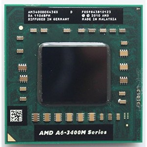 AMD A6-3400M 1.4 GHz Quad-Core (AM3400DDX43GX) モバイル CPU