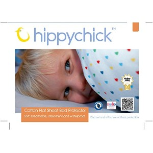 Hippychick Mattress Protector Flat Sheet - 200 x 150cm Double