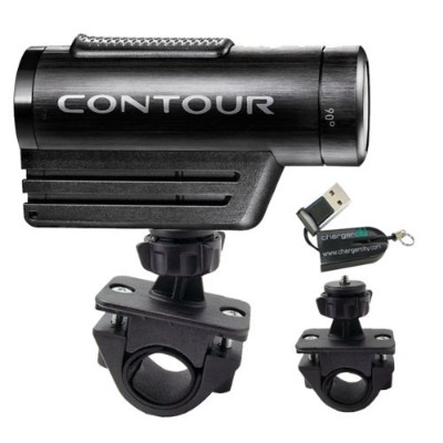 "ChargerCity Exclusive OEM 1/4"" 20 Tripod Sports Bike Bicycle Motorcycle ATV Mount for Contour..."