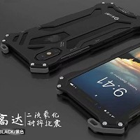iPhone X Warrior ケース, Awesome Rugged Aviation Aluminum Metal Frame Bumper Thin Armor カバー, TAITOU...