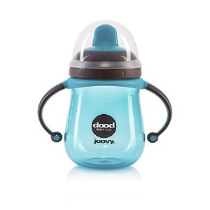 Joovy Dood Sippy Cup, Turquoise, 7 Ounce by Joovy