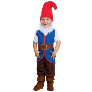 Gnome Boy Toddler Costume Small (24 Months 2T) ブルー FU116221