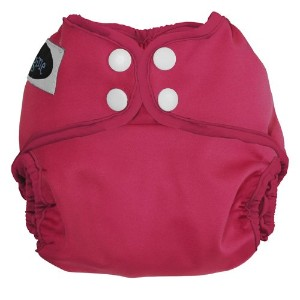 Imagine Baby Products Newborn Snap Diaper Cover, Raspberry by Imagine Baby Products