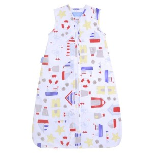 The Gro Company Sandcastle Bay Travel Grobag, 0-6 Months, 2.5 TOG by The Gro Company