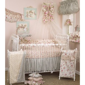 Cotton Tale Designs Tea Party Bedding Set, 8 Piece by Cotton Tale Designs