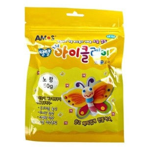 Single Color Clay 50g (Yellow) by AMOS