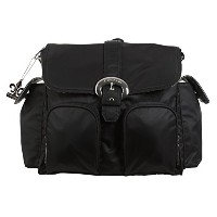 Kalencom Nylon Double Duty Diaper Bag, Black by Kalencom