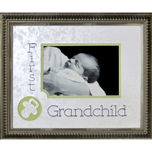 First Grandchild Photo Frame by James Lawrence