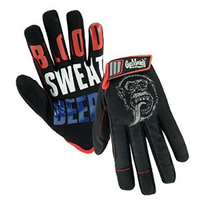 Gas Monkey Garage GM86605/L Blood Sweat N Beers, Large, Black by West Chester