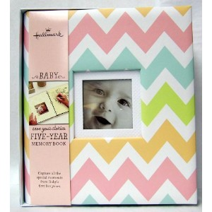 Hallmark Chevrons Girl 5 Year Memory Album by Hallmark