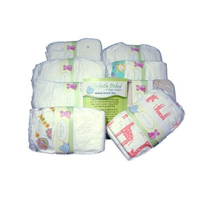 Perfectly Picked Diaper Sampler- Going Green Box - Eco Friendly Disposable Diaper Variety Pack ...