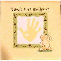 Classic Pooh Baby's First Handprint by Disney
